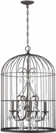 Craftmade 38425-VI Ivybridge Valencian Iron 5-Light Foyer Lighting