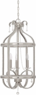 Craftmade 38533-BNK Andrianna Brushed Nickel 3-Light Entryway Light Fixture