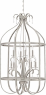 Craftmade 38538-BNK Andrianna Brushed Nickel 8-Light Foyer Light Fixture