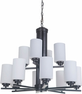 Craftmade 39712-OB Albany Oiled Bronze Chandelier Lighting