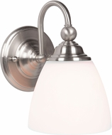 Craftmade 39901-BNK Brighton Brushed Polished Nickel Light Sconce