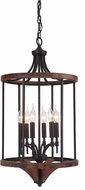 Craftmade 40336-ESPWB Tahoe Espresso / Whiskey Barrel Entryway Light Fixture