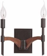 Craftmade 40362-ESPWB Tahoe Espresso / Whiskey Barrel Wall Sconce