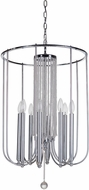 Craftmade 40638-CH Cascade Chrome Foyer Lighting Fixture