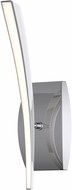 Craftmade 40861-CH-LED Aura Contemporary Chrome LED Wall Sconce Lighting