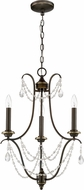 Craftmade 41123-LB Lilith Legacy Brass Mini Ceiling Chandelier