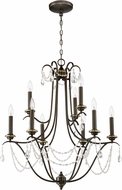 Craftmade 41129-LB Lilith Legacy Brass Lighting Chandelier