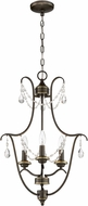 Craftmade 41133-LB Lilith Legacy Brass Mini Chandelier Light
