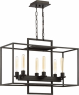Craftmade 41526-ABZ Cubic Contemporary Aged Bronze Brushed Island Lighting