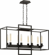 Craftmade 41528-ABZ Cubic Modern Aged Bronze Brushed Kitchen Island Lighting