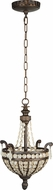 Craftmade 5513PR2 Cortana Peruvian Bronze Pendant Lighting