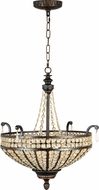 Craftmade 5522PR3 Cortana Peruvian Bronze Pendant Light