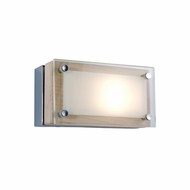 Jesco WS307H-1 Bric Contemporary 2.5  Tall Halogen Vanity Light