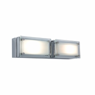 Jesco WS307H-2 Bric Modern 10.25  Wide Halogen Bath Light Fixture