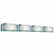Jesco WS307H-4 Bric Modern 21.25  Wide Halogen Bathroom Light Fixture