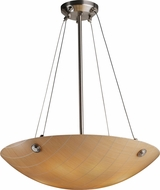Justice Design 3FRM-9662 3form Finials 30  Tall Pendant Lighting Fixture