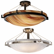 Justice Design 3FRM-9682 3form Ring 12  Tall Ceiling Light Fixture