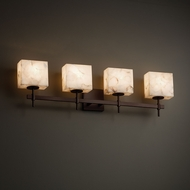 Justice Design ALR-8414 Union Alabaster Rocks! 4-Light Bathroom Lighting