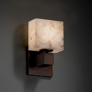 Justice Design ALR-8707 Aero Alabaster Rocks! ADA Compliant Lighting Wall Sconce