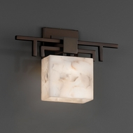 Justice Design ALR-8711 Aero Alabaster Rocks! ADA Compliant Wall Lighting Sconce