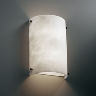 Justice Design CLD-5541 Clouds� 12.5 Tall Light Sconce