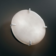 Justice Design CLD-5545-WS Clouds� 4 Tall Lighting Sconce