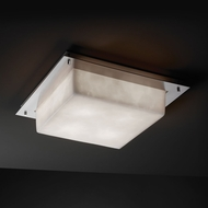 Justice Design CLD-5567 Clouds� 16  Wide Overhead Lighting Fixture