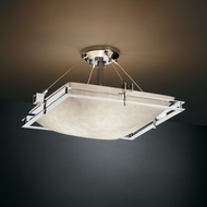 Justice Design CLD-8131 Clouds� 22 Wide Ceiling Light