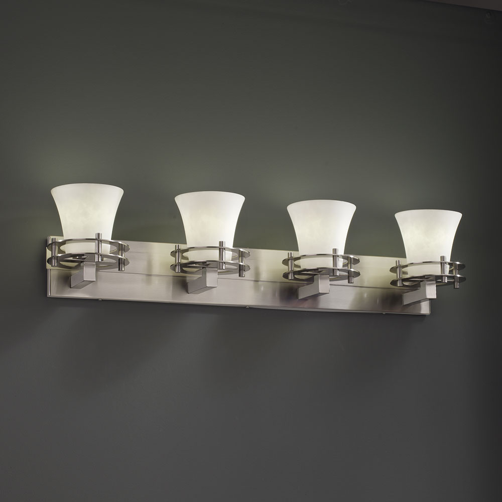 Bathroom vanity light fixtures with luxury trend in spain for 4 light bathroom fixture