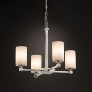 Justice Design CLD-8420 Tetra Clouds Mini Chandelier Lamp