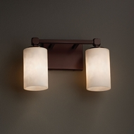 Justice Design CLD-8422 Tetra Clouds 2-Light Bath Sconce