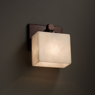 Justice Design CLD-8427 Tetra Clouds ADA Compliant Wall Light Sconce