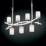 Justice Design CLD-8598 Clouds� 25 Tall Kitchen Island Light