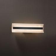 Justice Design CLD-8621 Contour Clouds LED 21 Bathroom Wall Sconce