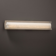 Justice Design CLD-8635 Lineate Clouds LED 30  Bathroom Lighting Sconce