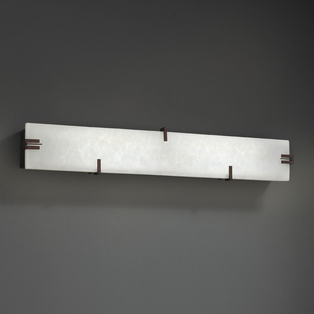 Bathroom Wall Sconces Led : Justice Design CLD-8870 Clouds Contemporary LED Bathroom Wall Sconce - JUS-CLD-8870