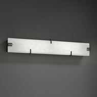 Justice Design CLD-8880 Clouds Modern LED Bathroom Sconce Lighting