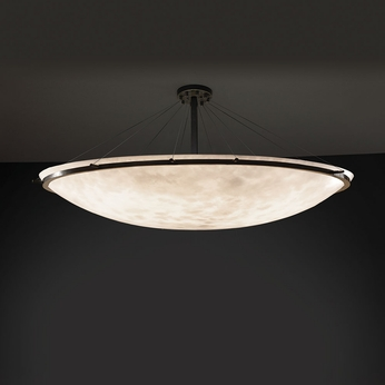 Justice Design CLD-9688 Ring Clouds Ceiling Light