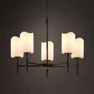 Justice Design CNDL-8410 Union CandleAria Chandelier Light
