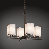 Justice Design FAB-8700 Aero Textile Mini Chandelier Light
