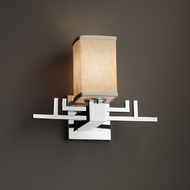 Justice Design FAB-8701 Aero Textile Wall Light Sconce