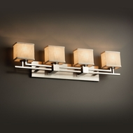 Justice Design FAB-8704 Aero Textile 4-Light Bathroom Light Sconce