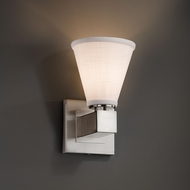 Justice Design FAB-8705 Aero Textile Wall Sconce Light