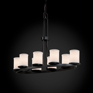 Justice Design FAB-8751 Dakota Textile Island Lighting