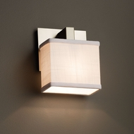 Justice Design FAB-8931 Modular Textile Wall Light Fixture