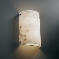 Justice Design FAL-5541 LumenAria� Faux Alabaster 8  Wide Wall Mounted Lamp