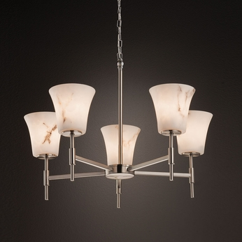 Justice Design FAL-8410 Union LumenAria Chandelier Lighting