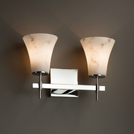 Justice Design FAL-8412 Union LumenAria 2-Light Bath Lighting