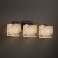 Justice Design FAL-8423 Tetra LumenAria 3-Light Bathroom Lighting Fixture