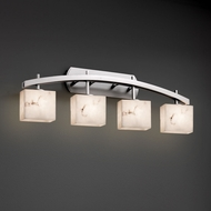 Justice Design FAL-8594 Archway LumenAria 4-Light Bath Light Fixture